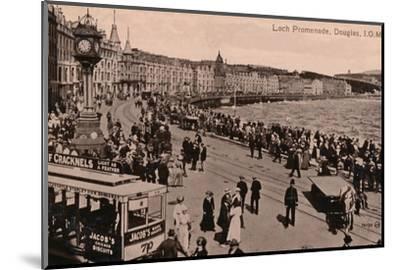 Loch Promenade, Douglas, Isle of Man, c1920-Unknown-Mounted Photographic Print