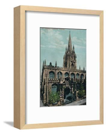 St Mary's Church, Oxford c1905-Unknown-Framed Photographic Print