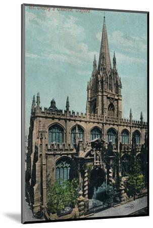 St Mary's Church, Oxford c1905-Unknown-Mounted Photographic Print