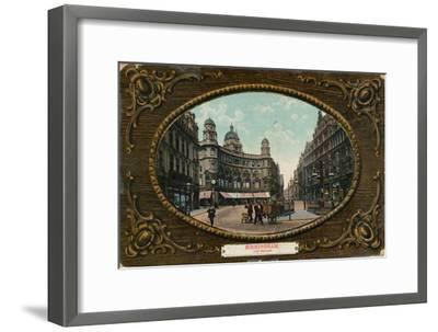 Old Square, Birmingham, c1905-Unknown-Framed Giclee Print