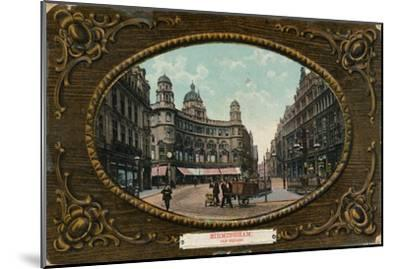 Old Square, Birmingham, c1905-Unknown-Mounted Giclee Print