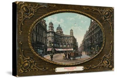 Old Square, Birmingham, c1905-Unknown-Stretched Canvas Print