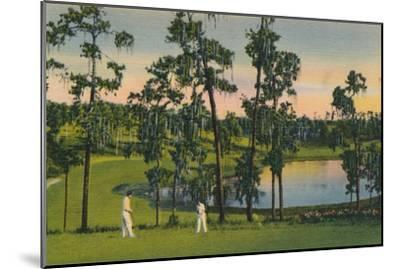 'Golfing, a year round sport in Florida', c1939-Unknown-Mounted Giclee Print