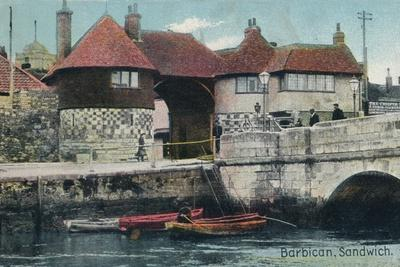 The Barbican, Sandwich, Kent, c1905-Unknown-Framed Photographic Print