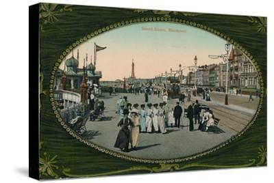 South Shore, Blackpool, c1905-Unknown-Stretched Canvas Print