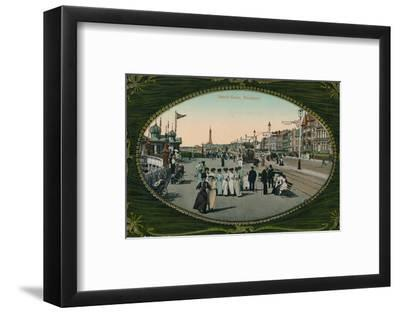 South Shore, Blackpool, c1905-Unknown-Framed Photographic Print