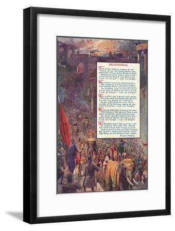 'Recessional', 1907-Unknown-Framed Giclee Print
