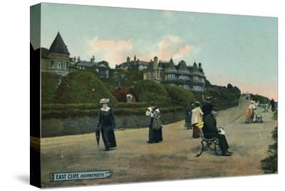 East Cliff, Bournemouth, c1905-Unknown-Stretched Canvas Print