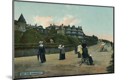 East Cliff, Bournemouth, c1905-Unknown-Mounted Photographic Print
