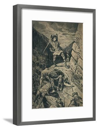 'Roland, the Hero of the National Epic of France', 1909-Unknown-Framed Giclee Print
