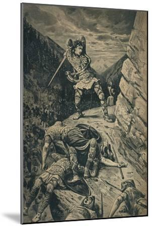 'Roland, the Hero of the National Epic of France', 1909-Unknown-Mounted Giclee Print