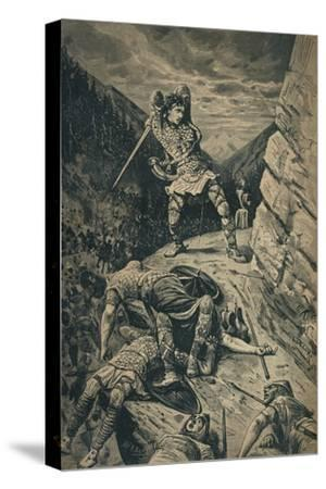'Roland, the Hero of the National Epic of France', 1909-Unknown-Stretched Canvas Print