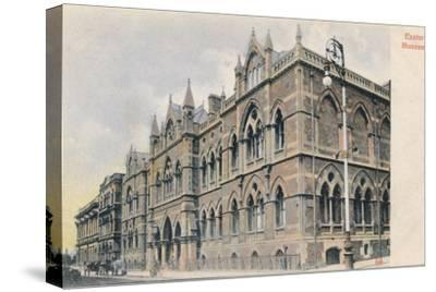 Exeter Museum, Devon, c1905-Unknown-Stretched Canvas Print