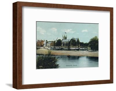 Isleworth Church, London, c1905-Unknown-Framed Photographic Print
