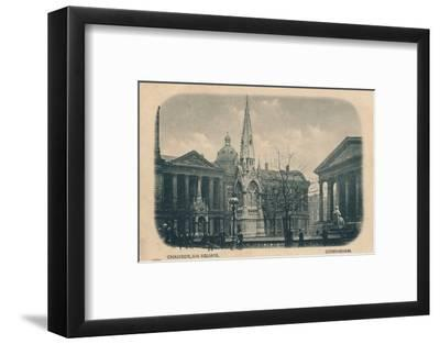 Chamberlain Square, Birmingham, c1905-Unknown-Framed Photographic Print