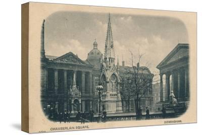 Chamberlain Square, Birmingham, c1905-Unknown-Stretched Canvas Print