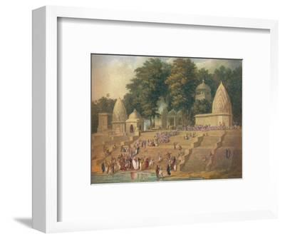 'A Hindu Custom Now Suppressed: Preparations for a Suttee', 1908-Unknown-Framed Giclee Print