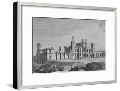 'Castle Freke, the Seat of John Evans Freke, Lord Carbery', c1820-Unknown-Framed Giclee Print