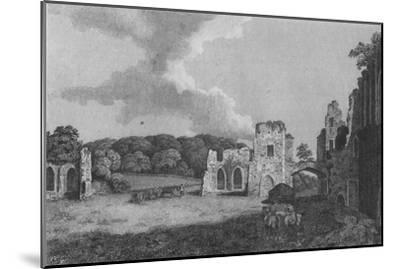 'View of part of  the Ruins of the Abbey of St. Agatha: near Eastby, Yorkshire', 1791-Unknown-Mounted Giclee Print