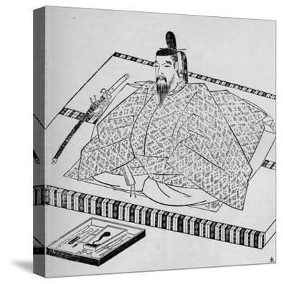 Go-Daigo, Emperor of Japan, 1907-Unknown-Stretched Canvas Print