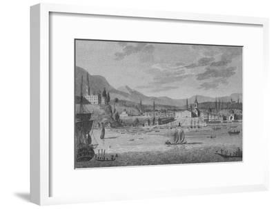 'Rio De Janeiro', 1809-Unknown-Framed Giclee Print