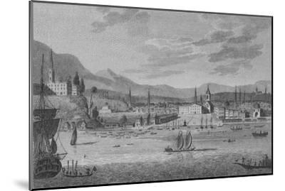 'Rio De Janeiro', 1809-Unknown-Mounted Giclee Print