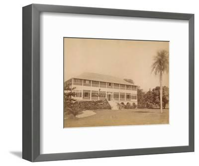 'Government House, near Kingston, Jamaica' c20th century-Unknown-Framed Photographic Print