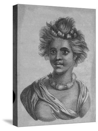 'A Woman of the Sandwich Islands', c18th century-Unknown-Stretched Canvas Print