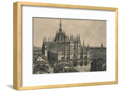 'Milan Cathedral', 1873-Unknown-Framed Giclee Print