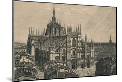 'Milan Cathedral', 1873-Unknown-Mounted Giclee Print