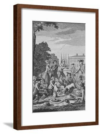 'The Citizens Fete Champetre', c1770-Unknown-Framed Giclee Print