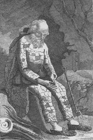 'The Dinton Hermit', c19th century-Unknown-Framed Giclee Print