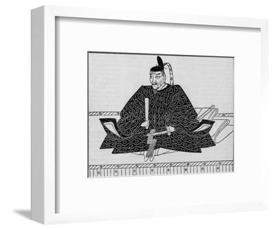 Toyotomi Hideyoshi (1536-1598), Japanese military leader, 1907-Unknown-Framed Giclee Print
