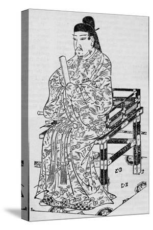 Emperor Kanmu, who established the Japanese Law of Succession, 1907-Unknown-Stretched Canvas Print