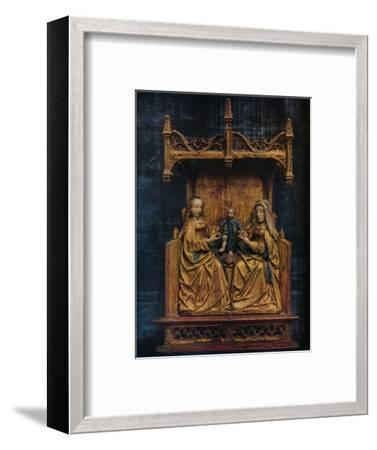 'The Virgin and St. Anne Teaching The Infant Saviour To Walk', c1470-Unknown-Framed Giclee Print