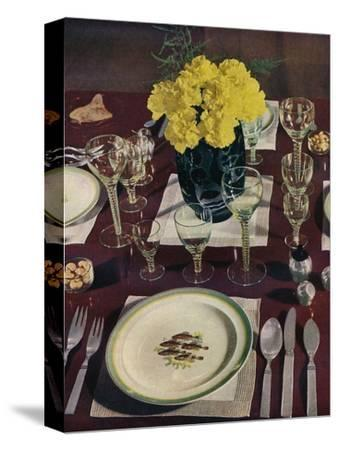 'Silver', 1939-Unknown-Stretched Canvas Print
