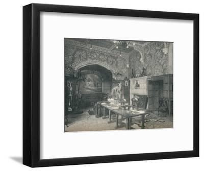 The Entrance Hall of Stanmore Hall, c1891-Unknown-Framed Photographic Print