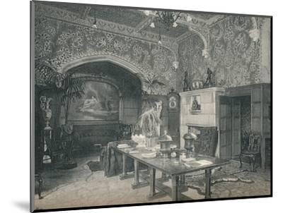 The Entrance Hall of Stanmore Hall, c1891-Unknown-Mounted Photographic Print