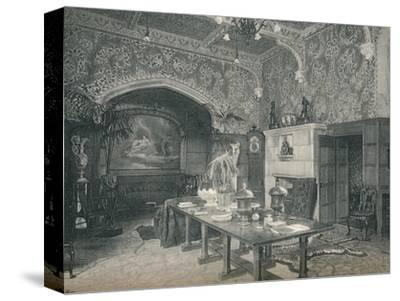 The Entrance Hall of Stanmore Hall, c1891-Unknown-Stretched Canvas Print