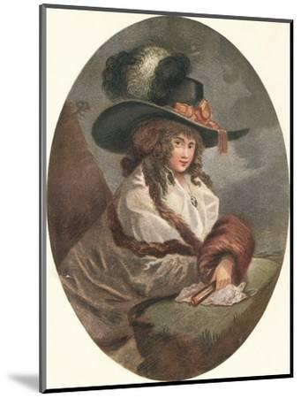 'Constantia', c1788-Unknown-Mounted Giclee Print