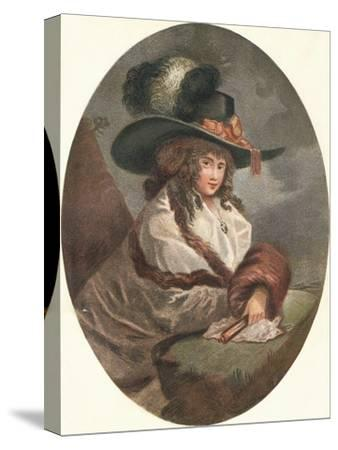 'Constantia', c1788-Unknown-Stretched Canvas Print