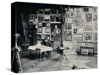 'P. Roll in his Studio', c1897-Unknown-Stretched Canvas Print