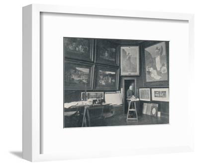 'Puvis De Chavannes in his Studio', c1897-Unknown-Framed Photographic Print