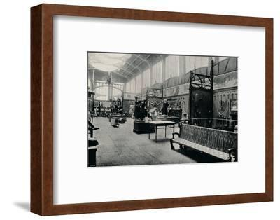 'Salle D'Ethnographie at the Brussels Exhibition', 1897-Unknown-Framed Photographic Print