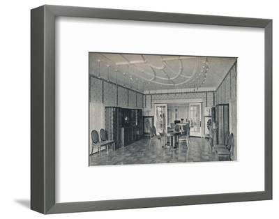 'House Near Bielefeld, The Dining Room', c1912-Unknown-Framed Photographic Print