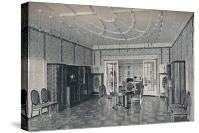 'House Near Bielefeld, The Dining Room', c1912-Unknown-Stretched Canvas Print