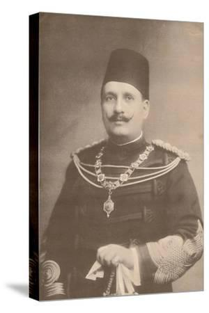 King Fuad I of Egypt, c1922-c1933-Unknown-Stretched Canvas Print