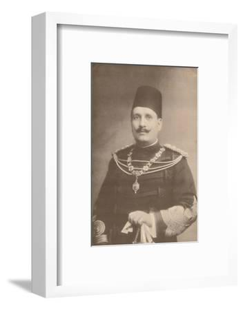 King Fuad I of Egypt, c1922-c1933-Unknown-Framed Photographic Print