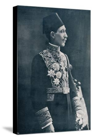 Sadek Wahba Pasha, Egyptian diplomat, c1933-Unknown-Stretched Canvas Print