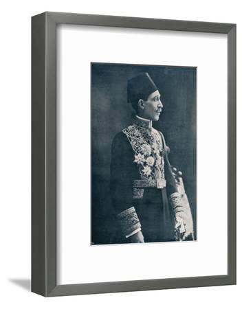 Sadek Wahba Pasha, Egyptian diplomat, c1933-Unknown-Framed Photographic Print